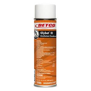 Betco Betco Glybet Disinfectant Citrus Scent Non-Foam 12/15.5oz. Case