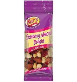 KAR NUT PRODUCTS COMPANY Kars, Cranberry Almond Delight Snack Mix, 100ct. Case