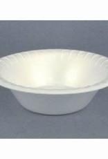 PACTIV CORPORATION Bowl, 12oz. Pactiv White Foam Bowl 8/125ct. Case