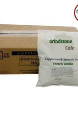 GRINDSTONE CAFE Cappuccino, French Vanilla 2lbs. Bag