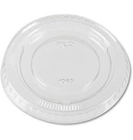 PRIME SOURCE Souffle Lids, P/S 4oz. Clear Vented Lid 25/100ct. Case