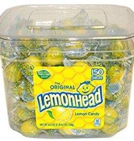 FERRARA PAN Lemonhead Lemon Candy 150ct. Jar