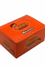 HERSHEY FOODS Reese's Miniature Peanut Butter Cup 105ct. Box