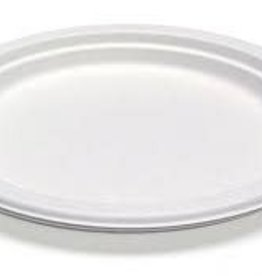 """PACTIV CORPORATION Plates, 10"""" 1-Comp Paper EarthChoice 125ct"""