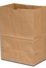 "Duro Bag Bag, Kraft Grocery Brown 6-3/4""x10-1/8""x14-3/8"" 500ct"