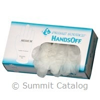 PRIME SOURCE Gloves, P/S Powdered Vinyl, Large 10/100ct. Case