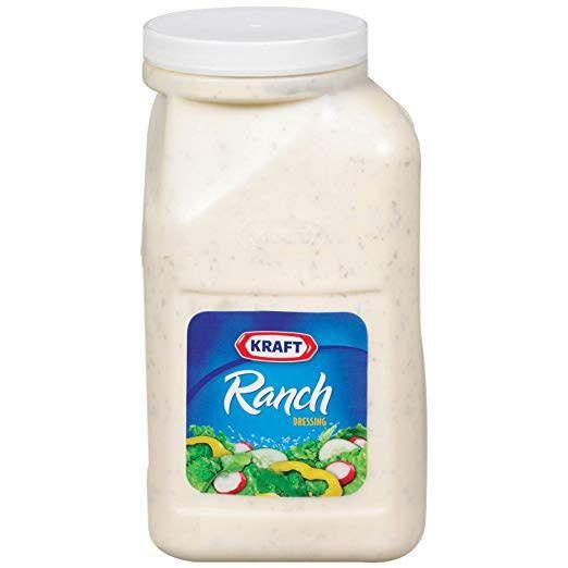 KRAFT HEINZ Ranch, Kraft Dressing 1 Gal