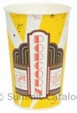 Solo Foodservice Popcorn Tub, 46oz Premier Design (VB46) 50ct Sleeve