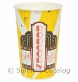 Solo Foodservice Popcorn Tub, 46oz Premier Design (VB46) 50ct Sleeve