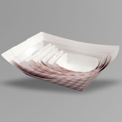 Empress Food Tray, Empress 2lb. Paper 250ct. Sleeve