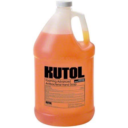 Kutol Hand Soap, Kutol Antibacterial Foaming Soap 4/1gal. Case