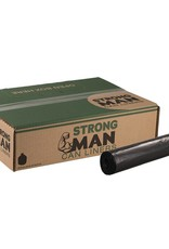 Strong Man Can Liner, Strong Man 45 Gal. 40x46 (1.5mil.) Black 100ct. Case