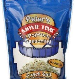 Peter's Popcorn Seasoning, Peter's Movie Time Snack Salt 35oz Bag
