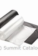 Loadstar Can Liner, Rollpak Black 7-10 Gallon 10/100ct Case