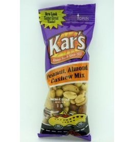 KAR NUT PRODUCTS COMPANY Kars Peanuts, Almond Cashew Mix 72/1.75oz. Case