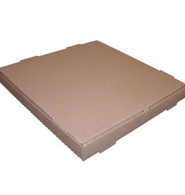 "INGLESE BOX COMPANY Pizza Box, Kraft 12"" 50ct."