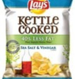 FRITO-LAY/LARGE SINGLE SERVE Lays, Kettle Sea Salt and Vinegar LSS Bag