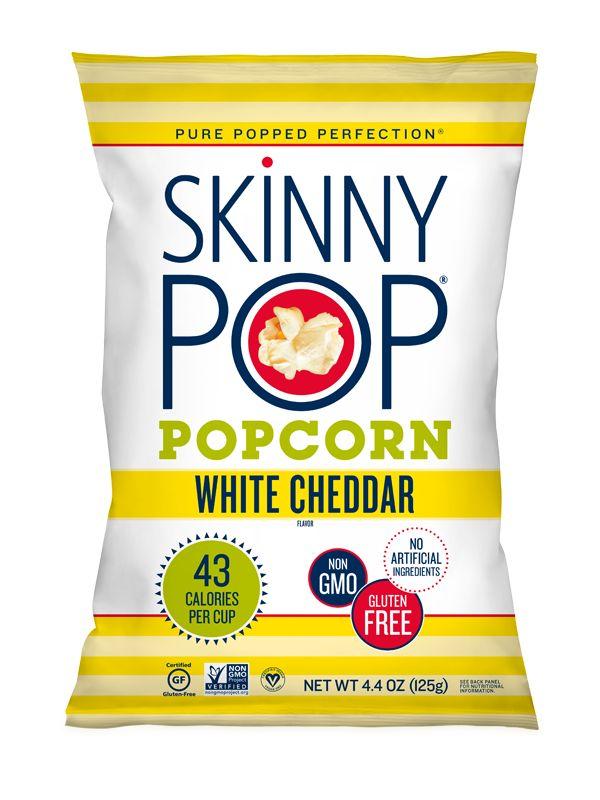 SKINNYPOP POPCORN LLC Skinny Pop, White Cheddar Popcorn 6/1oz