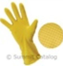 "PRIME SOURCE Gloves, P/S 12"" Yellow Long Latex Multipurpose 12ct"