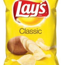 FRITO LAY Bulk Chips, Lays Regular 6/1lb Case