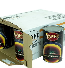 VANEE FOODS Broth, Beef Broth 12/46oz. Case
