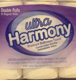Resolute Toilet Tissue, Harmony Ultra 2-Ply 4/12ct Case