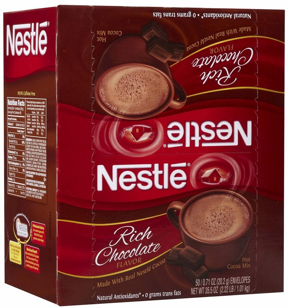 NESTLE USA INC Hot Chocolate, Nestle Hot Cocoa Mix 6/50ct. Case