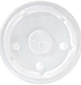 Dart Container Lids, 12-24oz. Straw Slotted Lid (LCRS-22) 20/100ct. Case