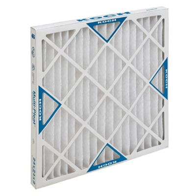 "Koch Filter Filters, Multi-Pleat XL 20""x25""x1"" Filter"