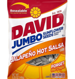 CONAGRA GILARDI Sunflower Seeds, David's Jalapeno Hot Salsa 5.25oz