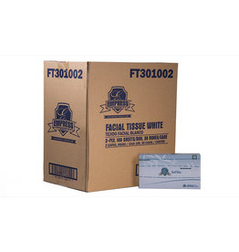 Empress Facial Tissue, Empress Flat Box 30/100ct. Case