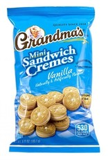 FRITO LAY Grandma's Mini Sandwich Cremes Vanilla 3.71oz bag
