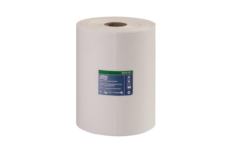 TORK Wipers, Tork (W1) Premium Industrial Heavy Duty Cleaning Cloth 1 Roll