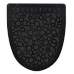Urinal Mat, P-Shield Black 6ct Case