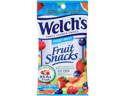 Welchs Fruit Snacks, Welch's Mixed Berry 48/2.25oz. Case