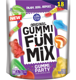 Promotion In Motion Fruit Snacks, Gummi Original Fun Mix Party 48/4.25oz Case