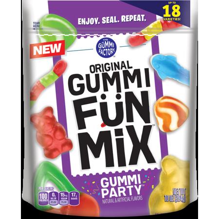 Promotion In Motion Fruit Snacks, Gummi Original Fun Mix Party 4.25oz Bag