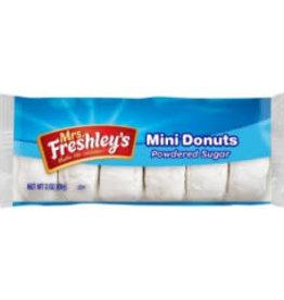 MRS. FRESHLEY'S Pastry, Powdered Donuts 10ct. Box