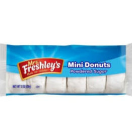 MRS. FRESHLEY'S Pastry, Powdered Donuts 12ct. Box