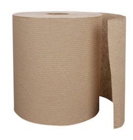 Right Choice Roll Towel, Right Choice Brown 6/800ft. Case