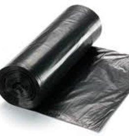 "Can Liner, RDM 56 Gal. Black 1.5mil (43x47"") Rolls Black 100ct. Case"