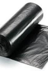 "North Coast Can Liner, RDM 60 Gal Black 1.5mil (38x58"") Rolls 100ct. Case"