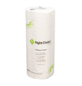 Right Choice Paper Towels, Right Choice 2 Ply 85 sheet 30ct. Case