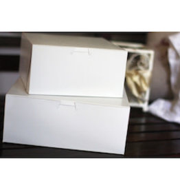 "SOUTHERN CHAMPION TRAY CO Bakery Box, 10""x10""x4"" White 100ct. Case"