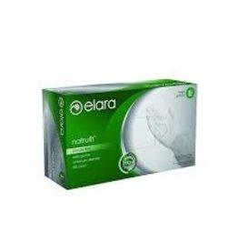 Elara Gloves, Elara Powder Free Latex X-Large 100ct. Box