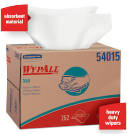 Kimberly-Clark Wipers, WypAll X60 (54015) 252ct.