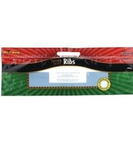 "Transcontinental Robbienic Bags, Rib Hot N' Handy Plastic 19.5x7x7"" 250ct"