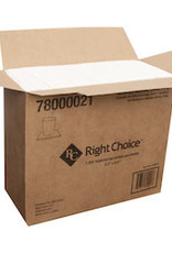 Right Choice Napkin, Right Choice White Beverage 8/500ct. Case