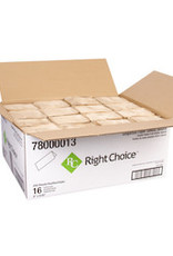 Right Choice Singlefold Towel, Right Choice Natural 16/250ct. Case