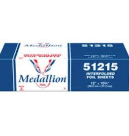"""Medallion Foil Sheets, Pop-Up 12""""x10.75"""" 500ct. Box"""